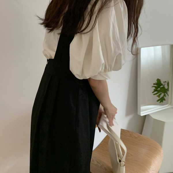 butter smoke blouse ( 뒷리본 )