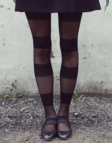 주문▲ AA STRIPE TIGHTS