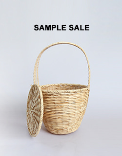 (SAMPLE SALE) RATTAN BASKET BAG